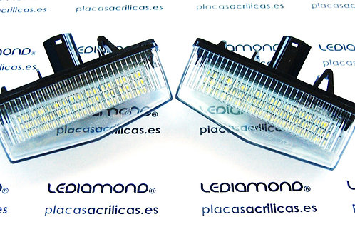 Plafones LED Matrícula LEXUS CT200H LMD030407