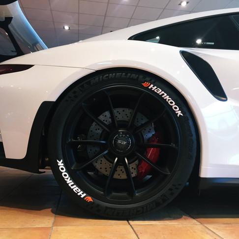 Pegatinas para neumáticos de las principales marcas: SportTyre EVO4 (Stickers)