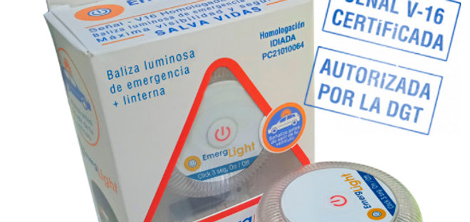 Baliza de Emergencia V16 HOMOLOGADA por la DGT EmergLight