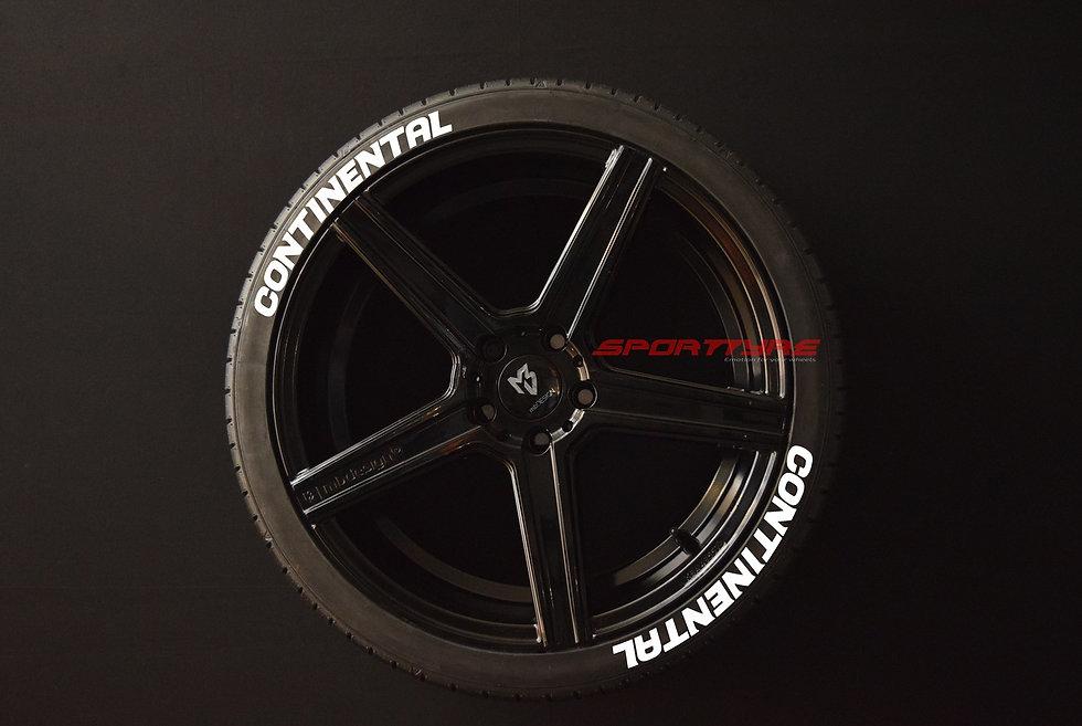 CONTINENTAL SportTyre EVO4 High Performance. Set 8 + 1 Activador