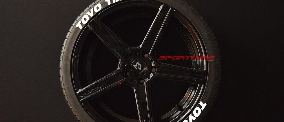 TOYO TIRES SportTyre EVO4 High Performance. Set 8 + 1 Activador