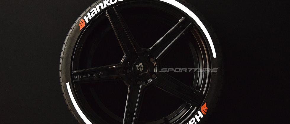 HANKOOK + ARROW SportTyre EVO4 Top Quality Set 8 + 2 Activador + 1 Limpiador