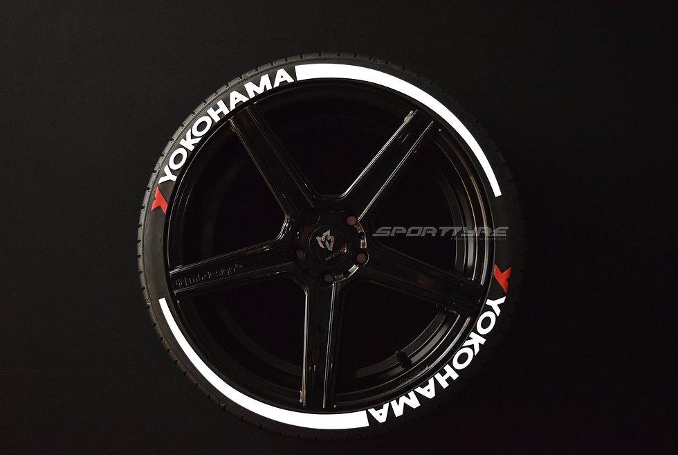 YOKOHAMA + ARROW SportTyre EVO4 Top Quality Set 8 + 2 Activador + 1 Limpiador