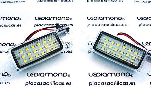 Plafones LED Matrícula TOYOYA HARRIER HIACE LANDCRUISER RAV4 LMD030404