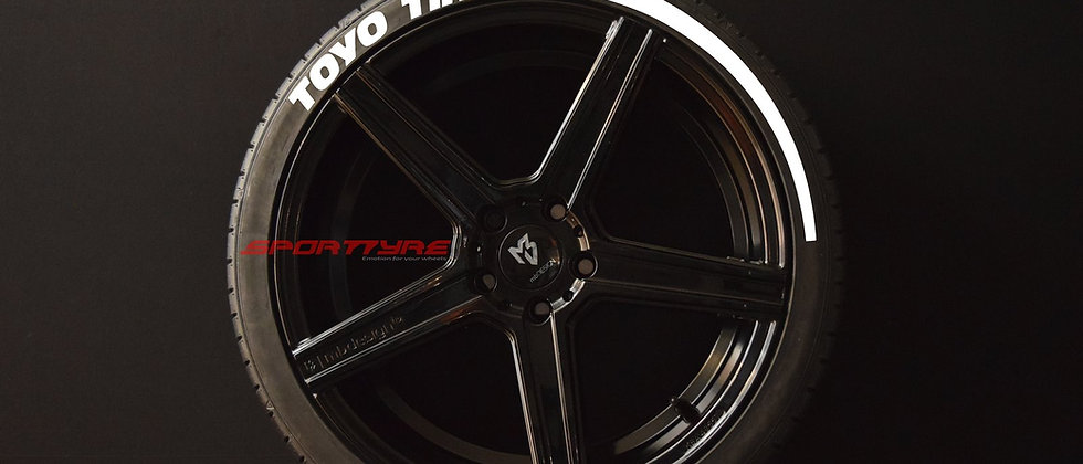 TOYO TIRES + ARROW SportTyre EVO4 Top Quality Set 4 + 2 Activador + 1 Limpiador