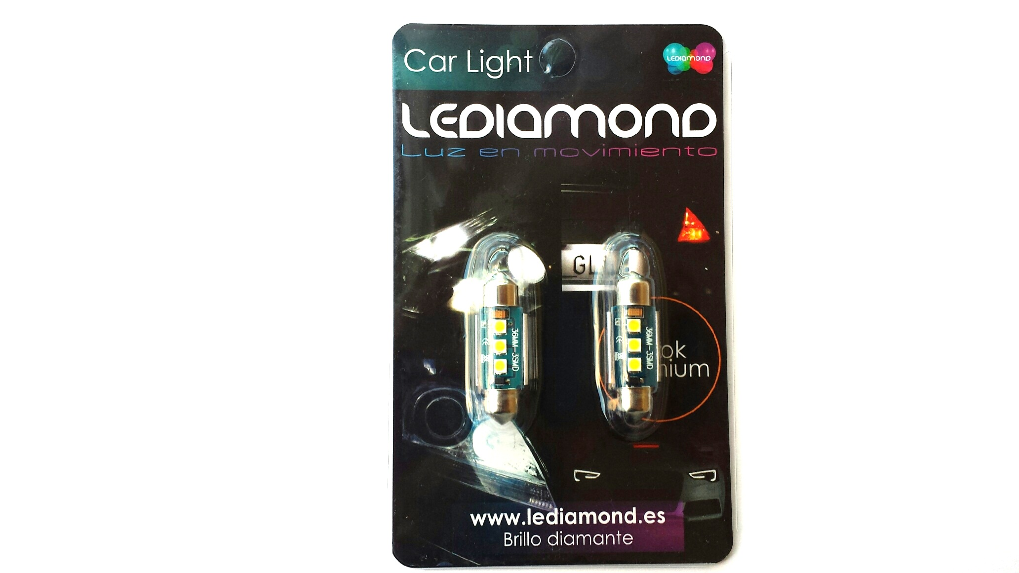 BLISTERS LEDIAMOND C5W FESTOON BLUE EDITION SAMSUNG 3030