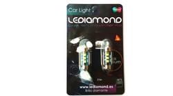 BLISTERS LEDIAMOND C5W FESTOON BLUE EDITION SAMSUNG 3030