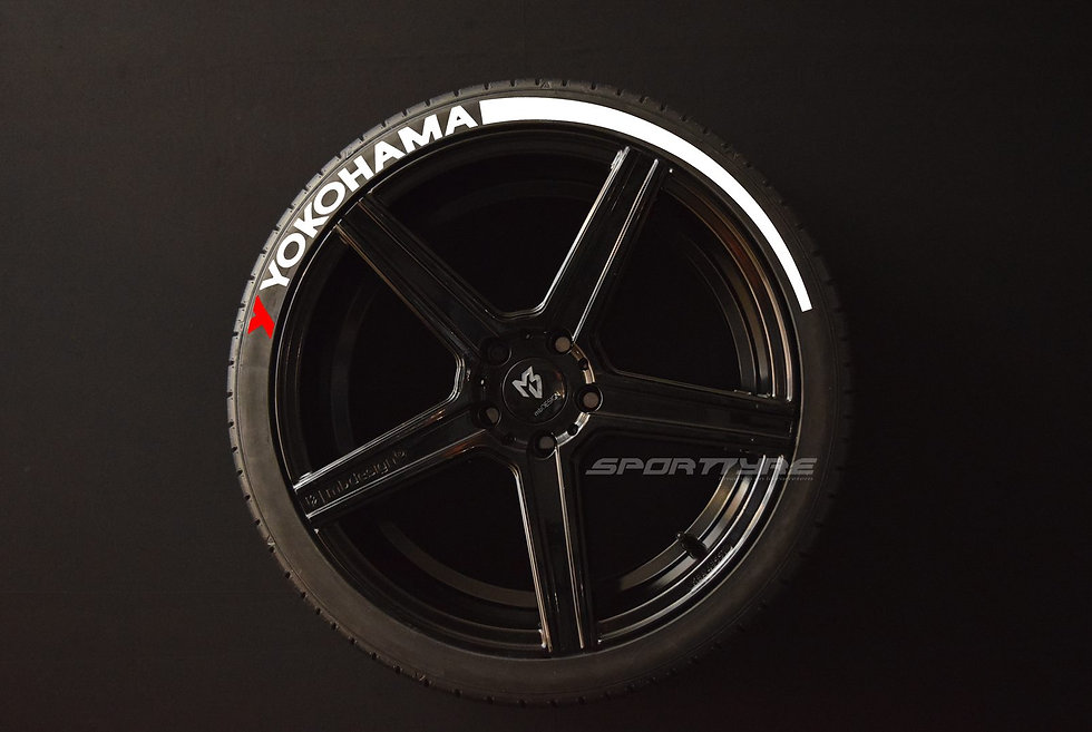 YOKOHAMA + ARROW SportTyre EVO4 Top Quality Set 4 + 2 Activador + 1 Limpiador