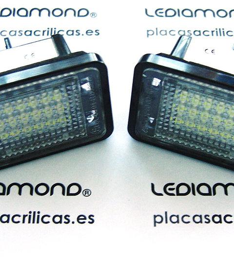 Plafones LED Matrícula MERCEDES-BENZ GLK X204 LMD030206