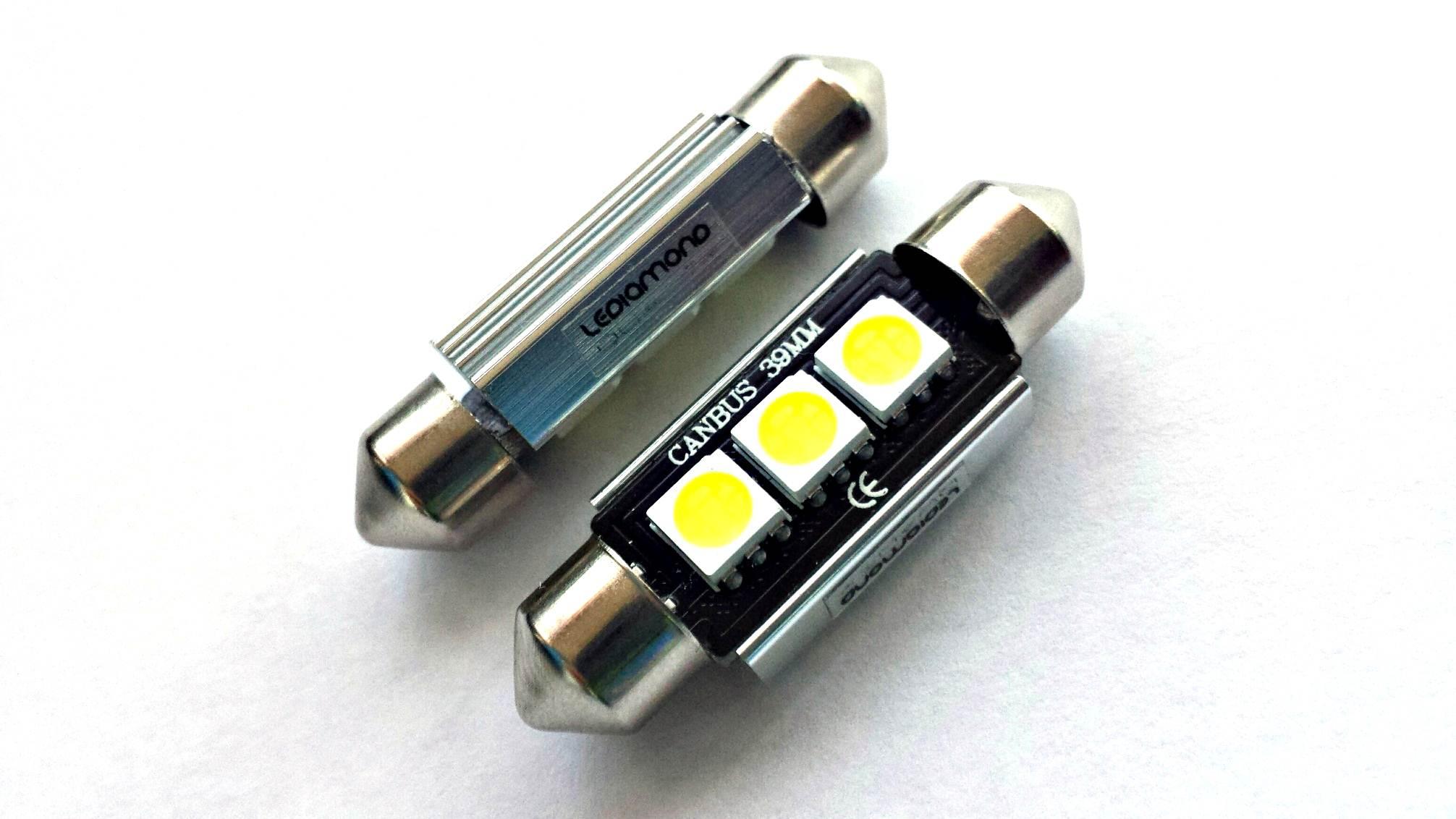 bombillas lediamond c5w festoon 36mm samsung 5050 B