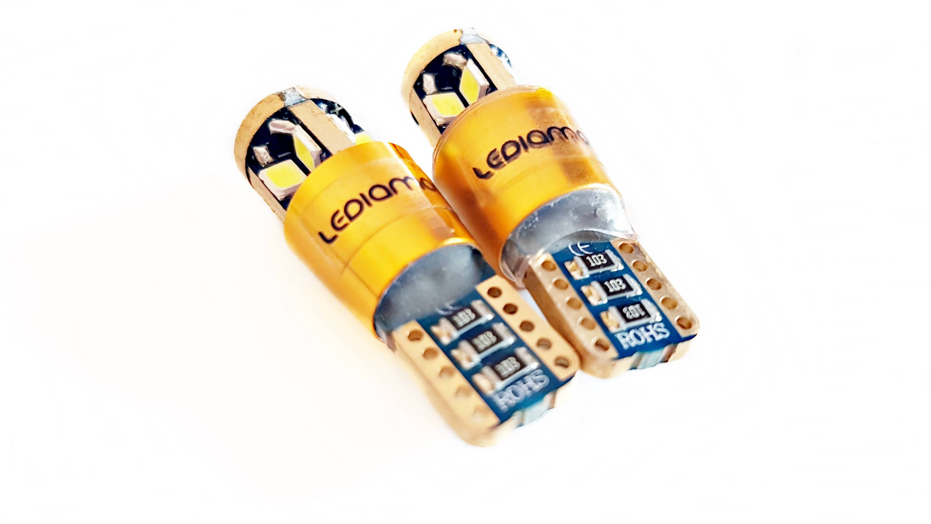 LEDiamond W5W-T10 GOLD Samsung 3030 C