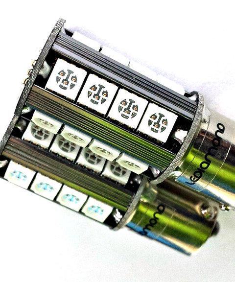 LEDiamond PY21W-BAU15S. Standard LED NARANJA. CANBUS. SAMSUNG 5050. ORANGE.