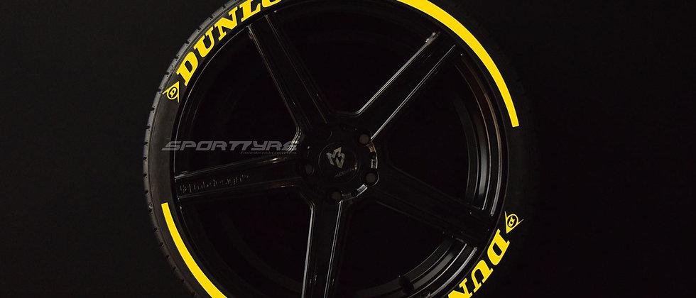 DUNLOP + ARROW SportTyre EVO4 High Performance. Set 8 + 2 Activador + 1Limpiador