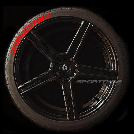 BRIDGESTONE rojo 1 SportTyre EVO4 logo.j