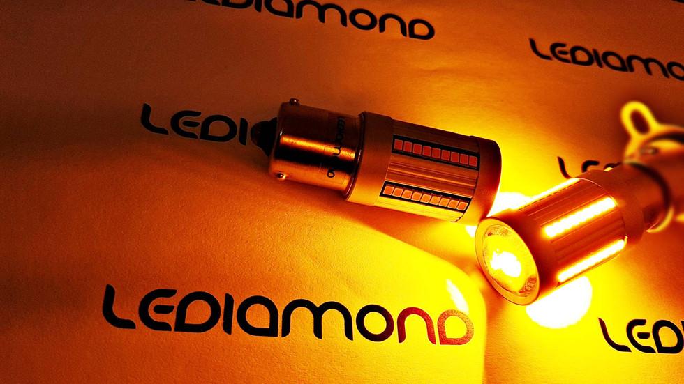 LEDIAMOND PY21W-BAU15S ALUMINIO REVOLUTI