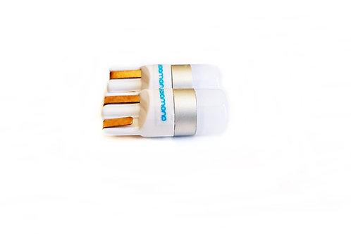 LEDiamond W5W–T10 Efecto 3D. Blanco Frío Diamante.Alto Brillo. Chip Osram 3030