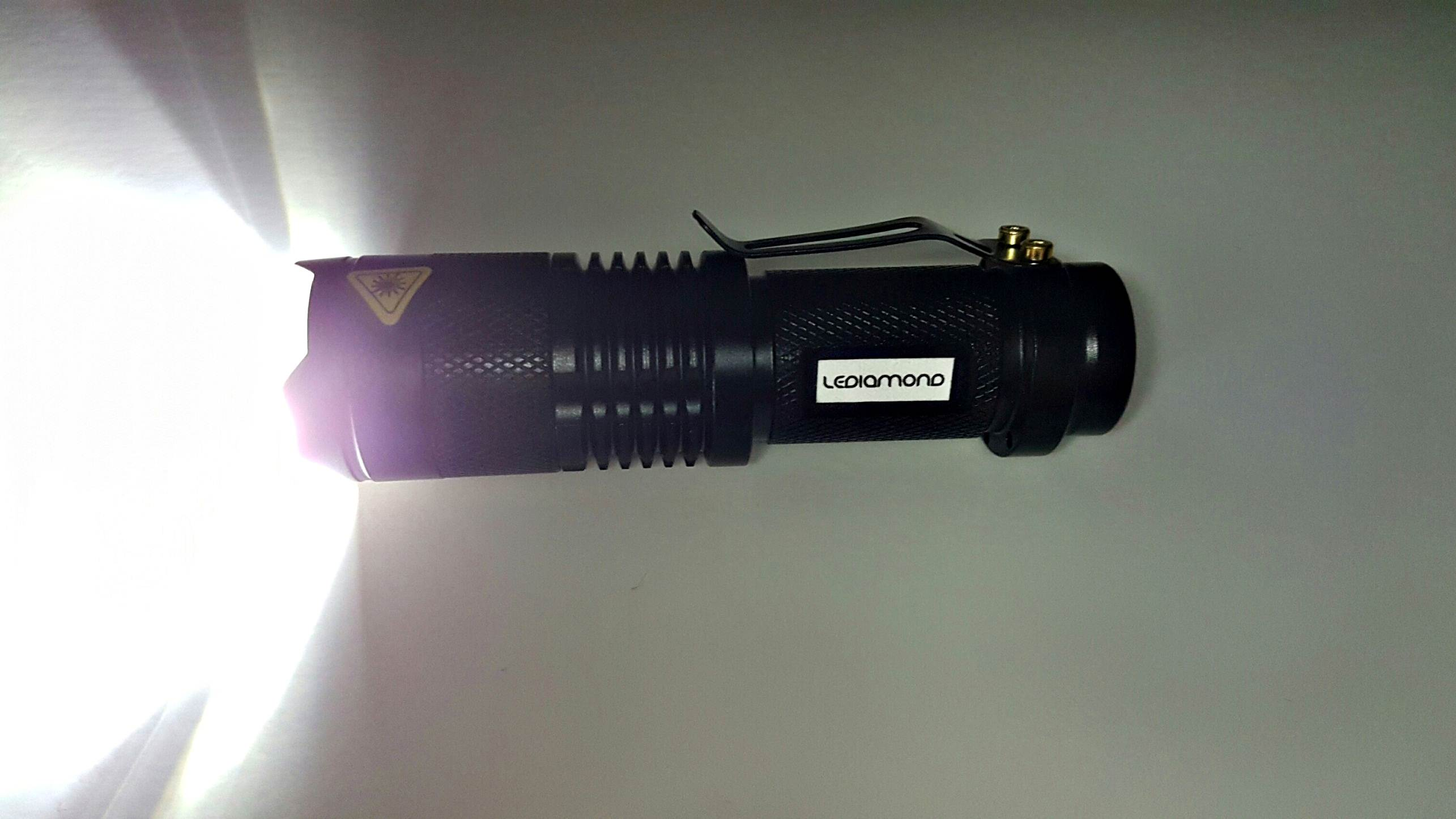 Linterna LEDIAMOND Mini luz