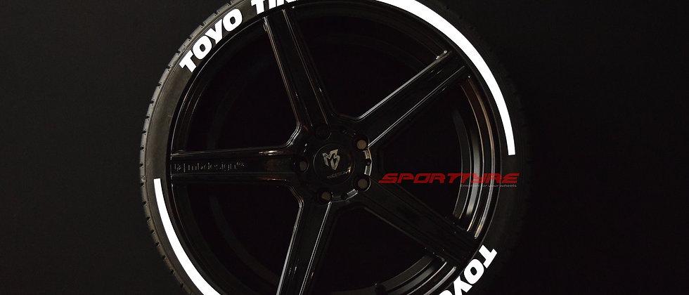 TOYO TIRES + ARROW SportTyre EVO4 Top Quality Set 8 + 2 Activador + 1 Limpiador