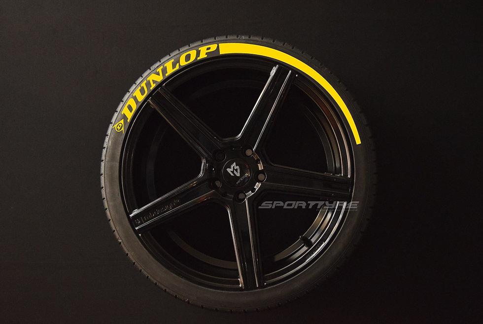 DUNLOP + ARROW SportTyre EVO4 High Performance. Set 4 + 2 Activador + 1Limpiador