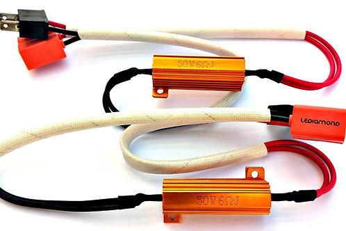 KIT CANBUS 50W 12V con conector H7 PLUG&PLAY. Canceladores de Error