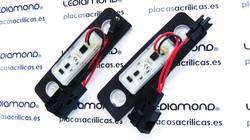 PLAFONES LED MATRICULA VW SKODA LMD030903 B