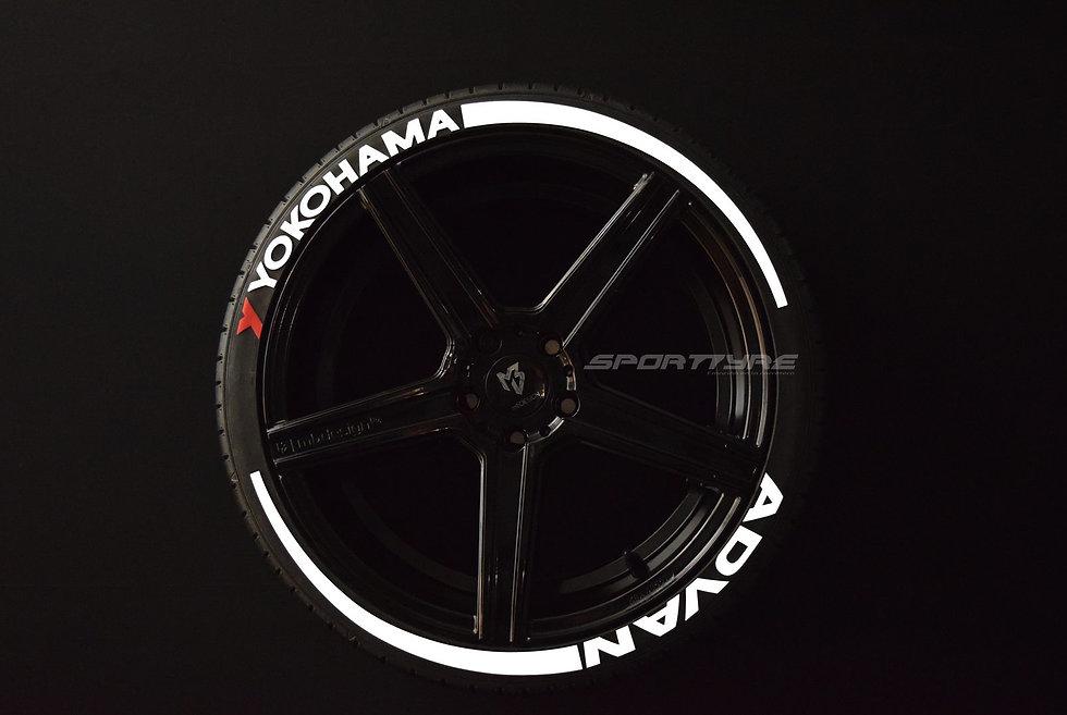 YOKOHAMA + ADVAN + ARROW. SportTyre EVO4 Set (4+4) + 2 Primer + 1 Limpiador