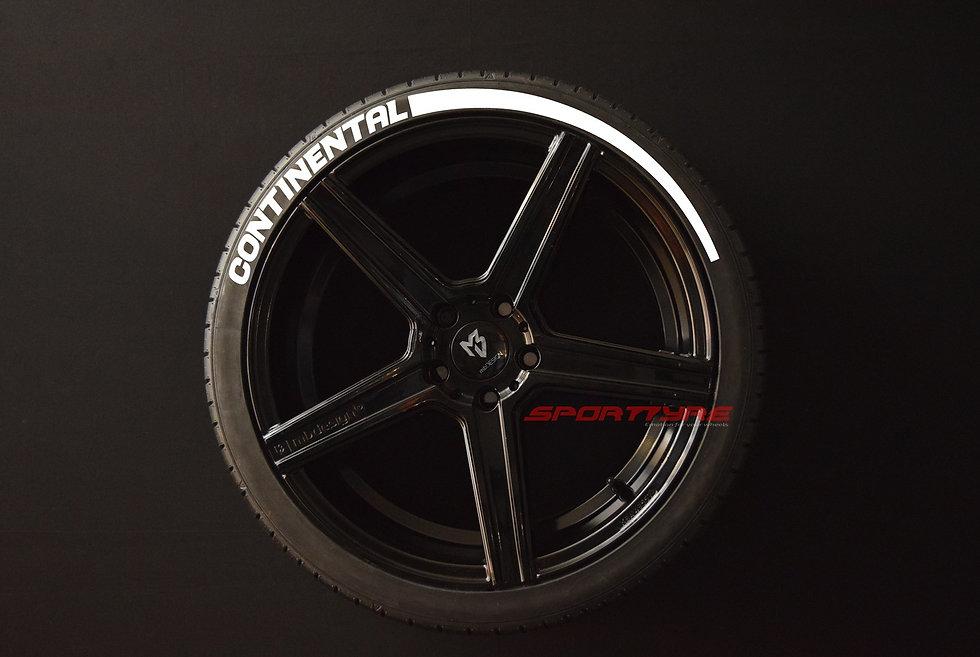CONTINENTAL + ARROW SportTyre EVO4 Top Quality. Set 4 + 2 Activador + 1Limpiador