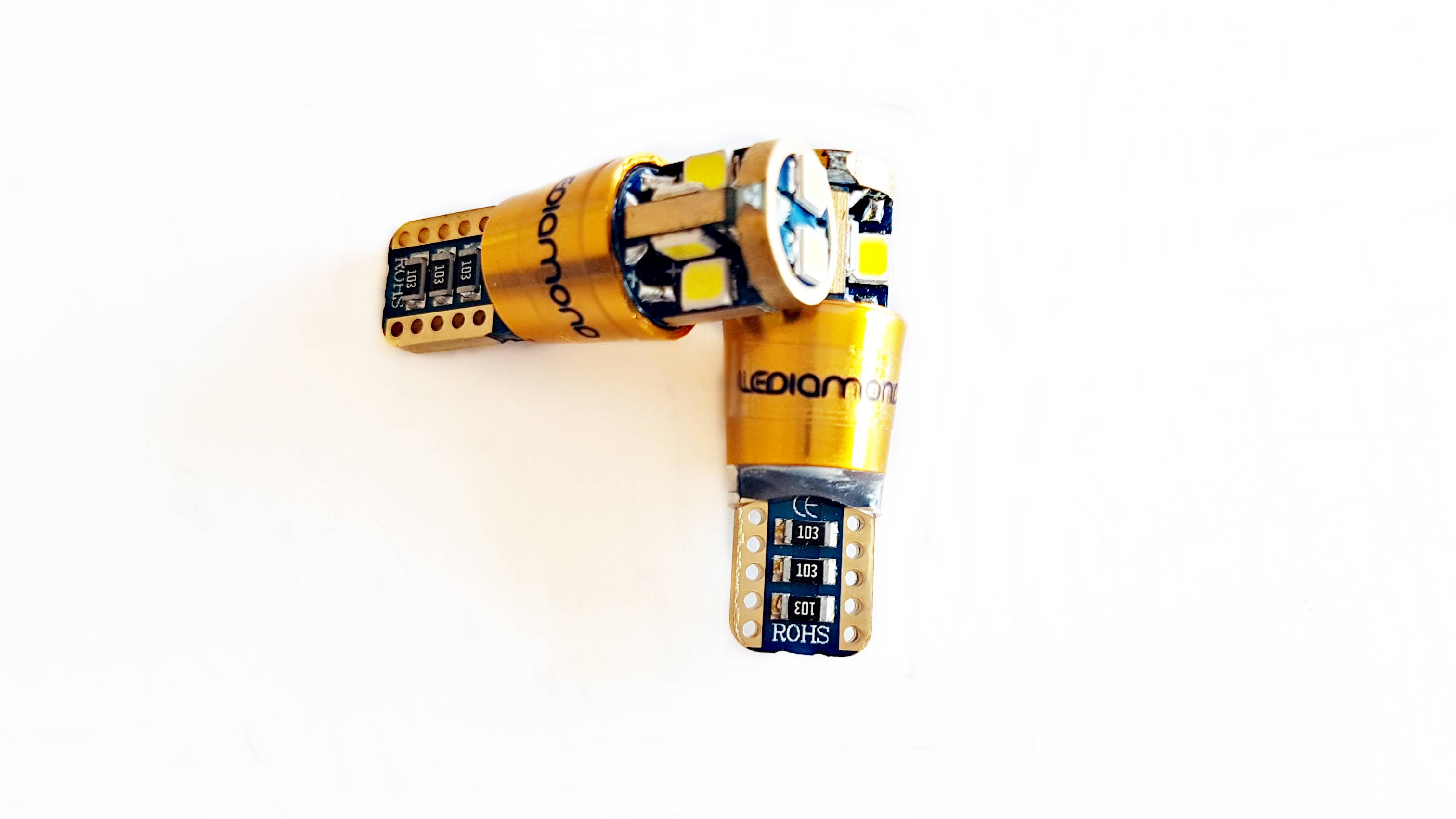 LEDiamond W5W-T10 GOLD Samsung 3030 D