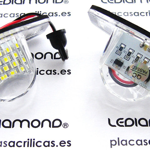 Plafones LED Matrícula HONDA JAZZ ODISEY INSIGHT CR-V FR-V LMD030301