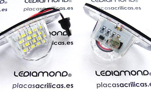 Plafones LED Matrícula HONDA JAZZ ODISEY INSIGHT CR-V FR-V LMD030301