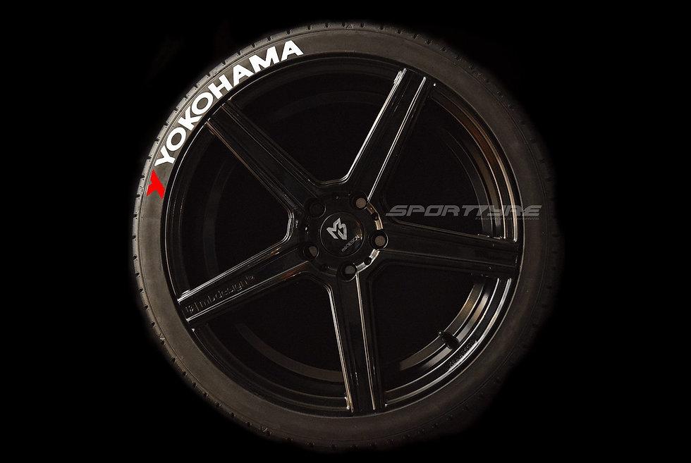 YOKOHAMA SportTyre EVO4 High Performance. Set 4 + 1 Activador