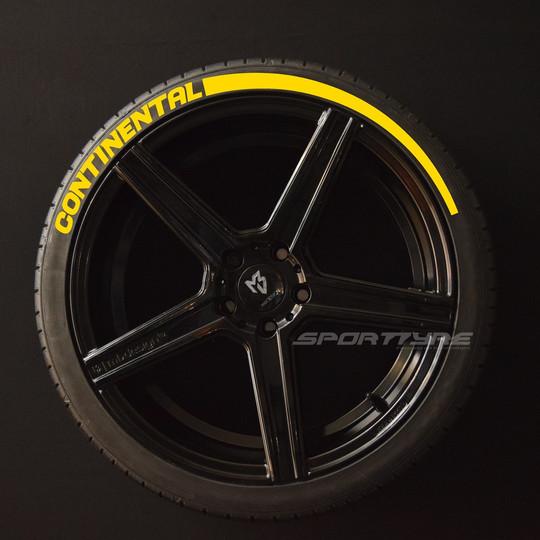 CONTINENTAL amarillo 1 Flecha SportTyre