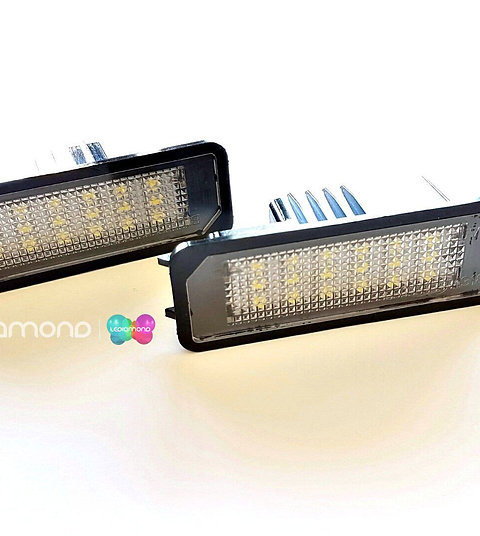 Plafones LED Matrícula SKODA SUPERB 4D 2008-2013 LMD030601