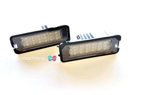 Plafones LED Matrícula SKODA SUPERB 4D 2008-2013 LMD030601