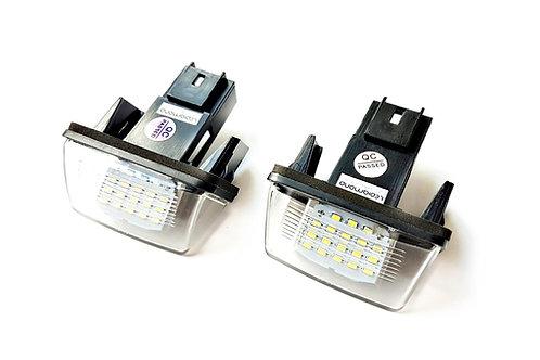 Plafones LED Matrícula CITROËN C3 C4 C5 BERLINGO SAXO XSARA ... LMD032001