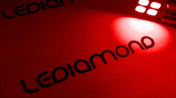 Bombillas led interior rojo LEDIAMOND ambiente
