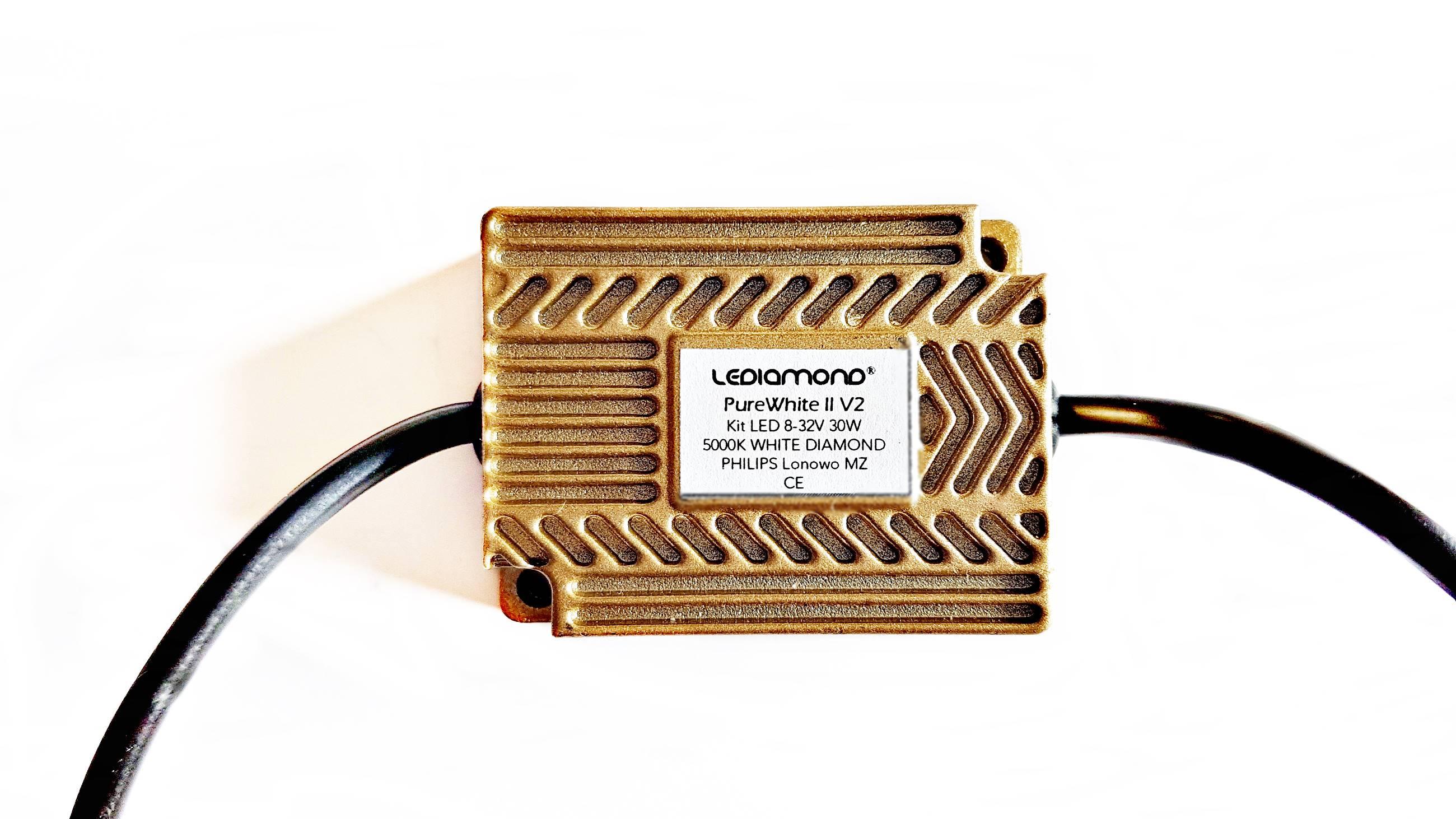 LEDIAMOND PUREWHITE II GOLD V2 transformador