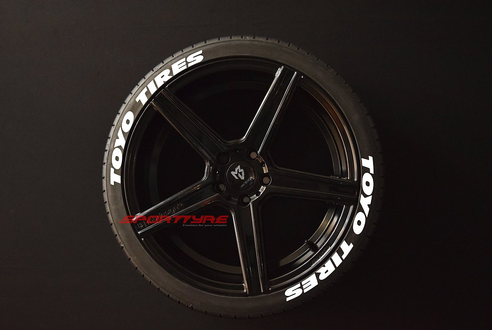 TOYO TIRES (Wide) SportTyre EVO4 Performance. Set 8 + 1 Activador