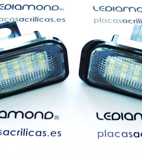 Plafones LED Matrícula MERCEDES-BENZ W203 4D LMD030212