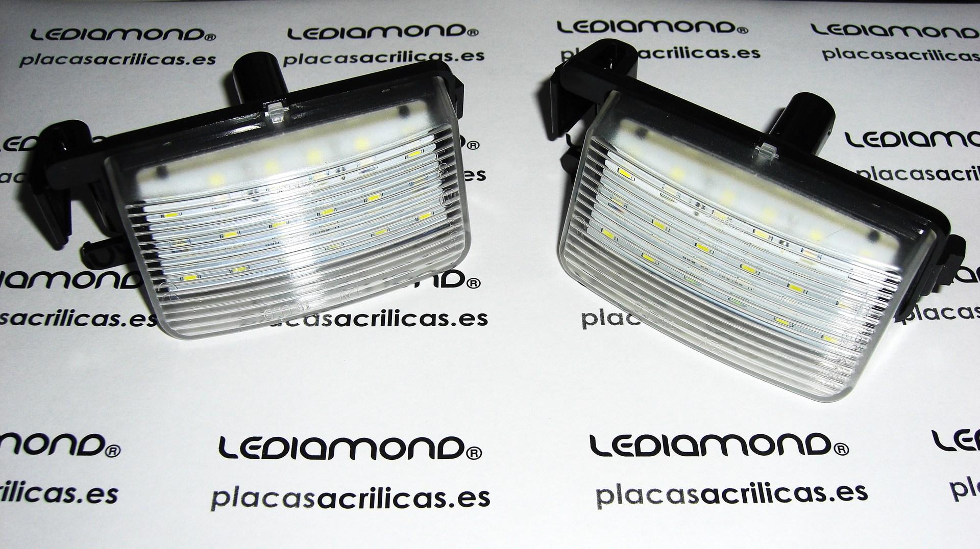 PLAFONES LED matricula LEDIAMOND DIA