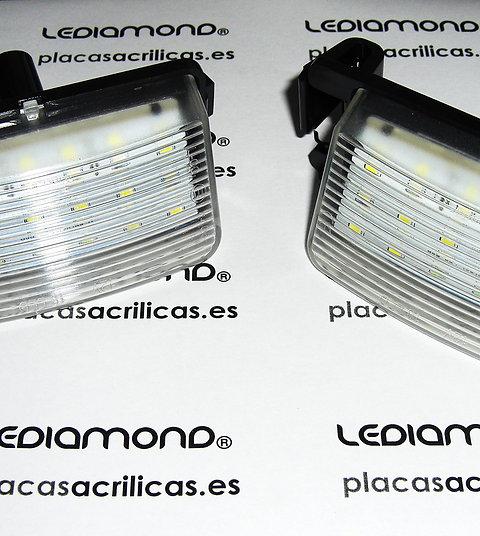 Plafones LED Matrícula NISSAN Tiida 350Z 370Z GTR Cube Nuevo XTRAIL LDM031801