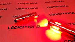 LEDIAMOND PR21W BA15S ROJO alta gama 80W LUZ 2