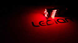 LEDIAMOND W5W-T10 BLUE EDITION EXTRAPLANA ROJO LUZ 2