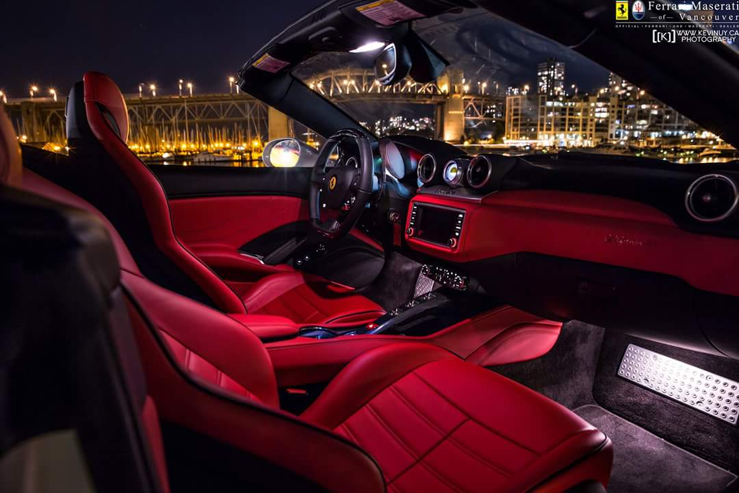 bombillas led interior lediamond GOLD Ferrari