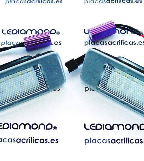 Plafones LED Matrícula OPEL VECTRA C ESTATE LMD031910