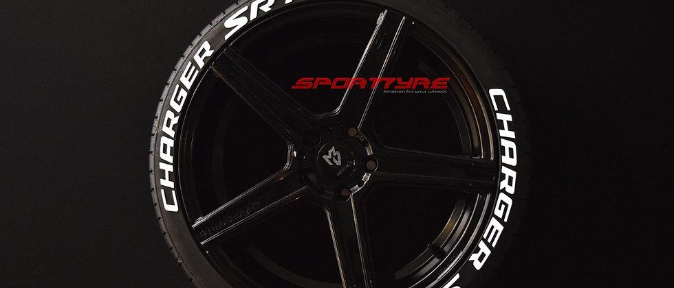 CHARGER SRT SportTyre EVO4 FASHION. Set 8 + 1 Activador + 1 Limpiador Letras