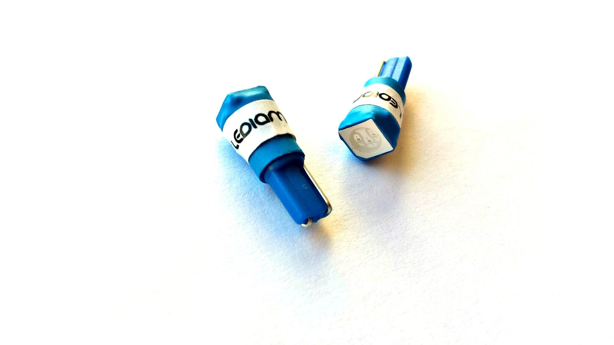 Bombillas led T5 azul LEDIAMOND ambiente