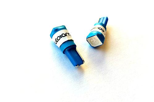 LEDiamond W1.2W/W3W-T5 Standard LED 5050. Alto brillo. Azul Eléctrico