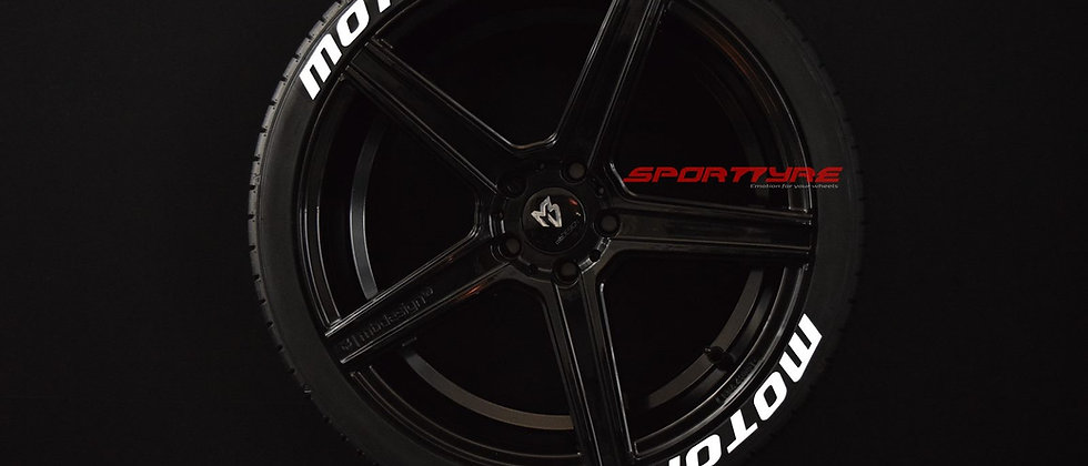 MOTORSPORT SportTyre EVO4 FASHION. Set de 8. Calidad de Altas Prestaciones