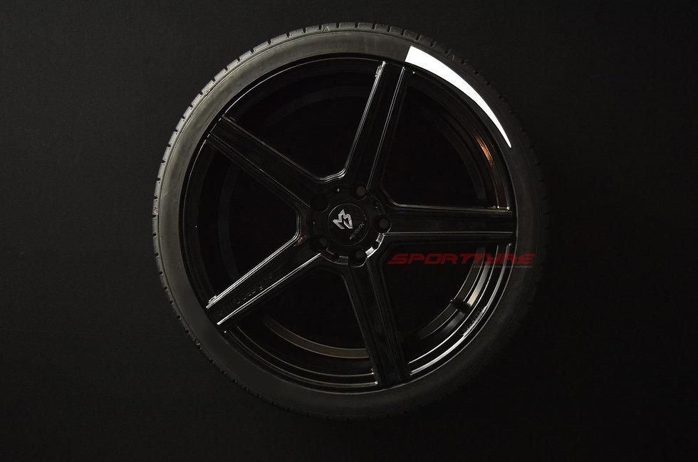 SportTyre EVO3 ARROW: Set de 4 Líneas de Flecha Corta para neumáticos